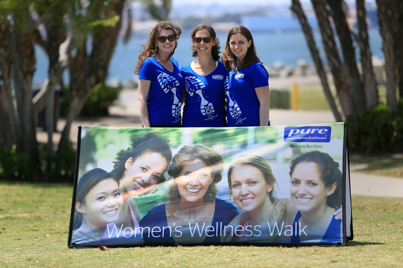 SAN DIEGO, CA-MAY 11, 2015: | Pure Encapsualtions Women's Wellness Walk at Embarcadero Park North in San Diego. | (Photo by Misael Virgen)